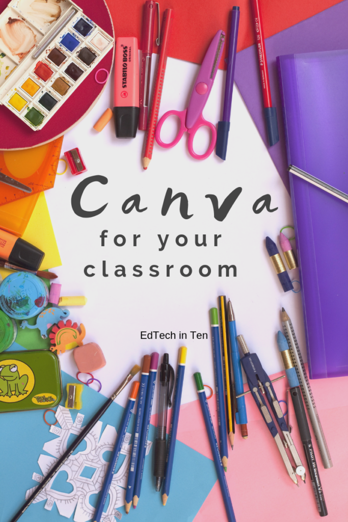 Canva is a phenomenal, FREE tool for creating graphics, posters, letters, and flyers for your classroom.